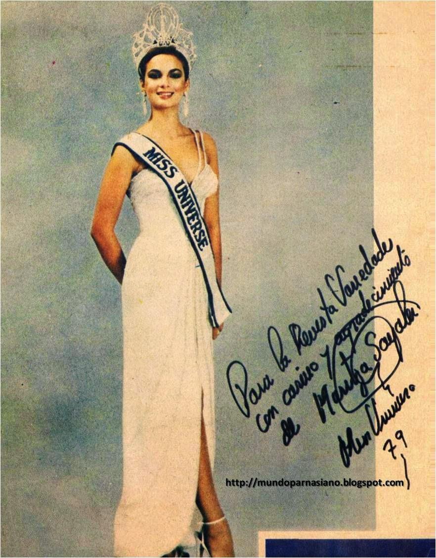maritza sayalero, miss universe 1979. Maritz20