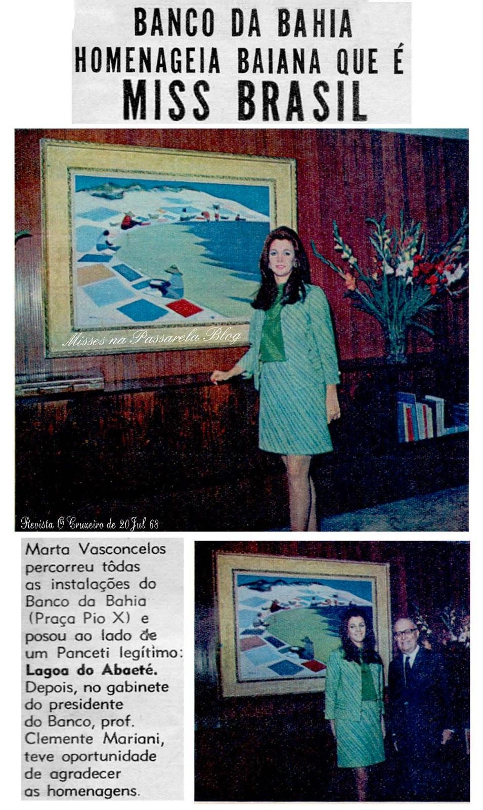 martha vasconcelos, miss universe 1968. - Página 2 Martha13