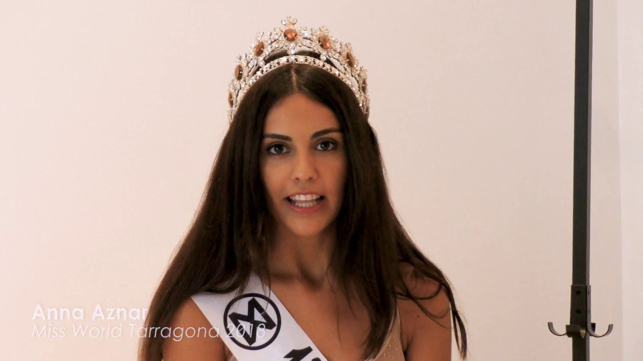 anna aznar, candidata a miss universe spain 2019/ top 2 de miss world spain 2018. Maxres15
