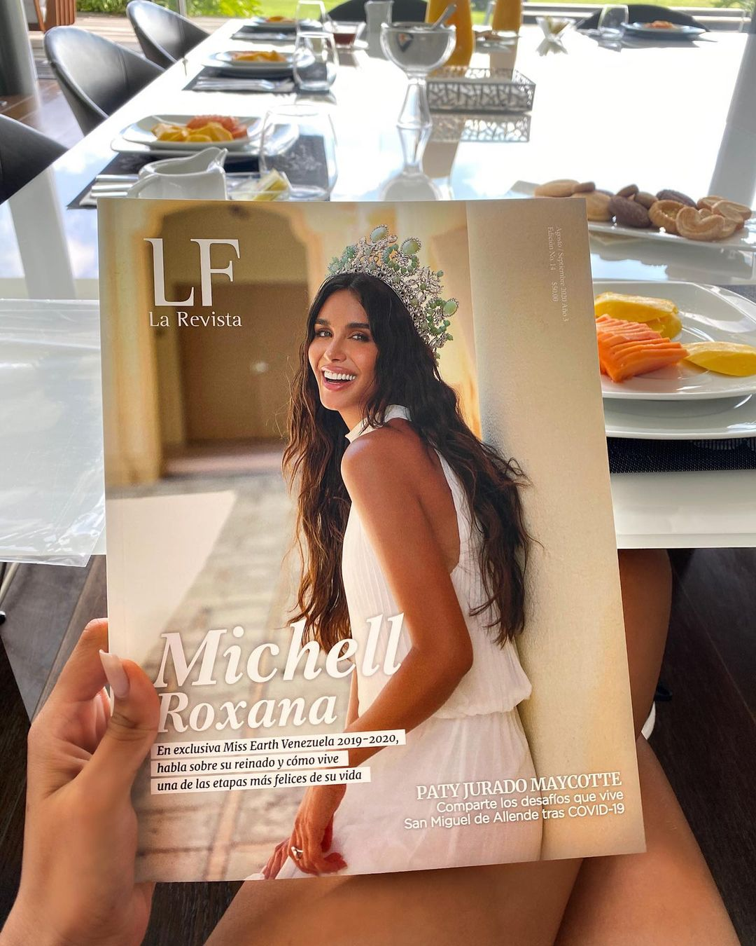 michell castellanos, miss earth venezuela 2019. - Página 11 Michel17
