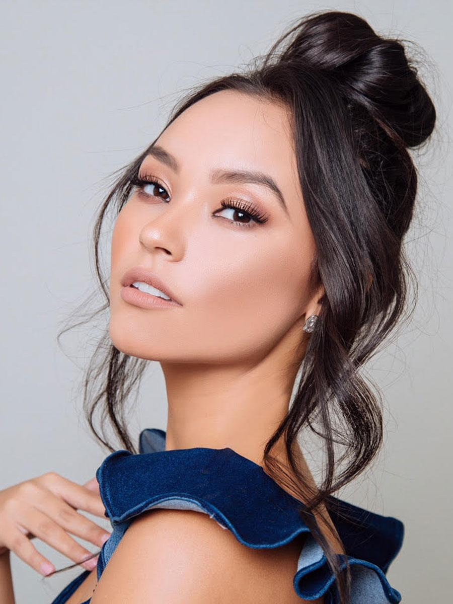 hillary hollman, 3rd runner-up de miss intercontinental 2018-2019. Miss-i12