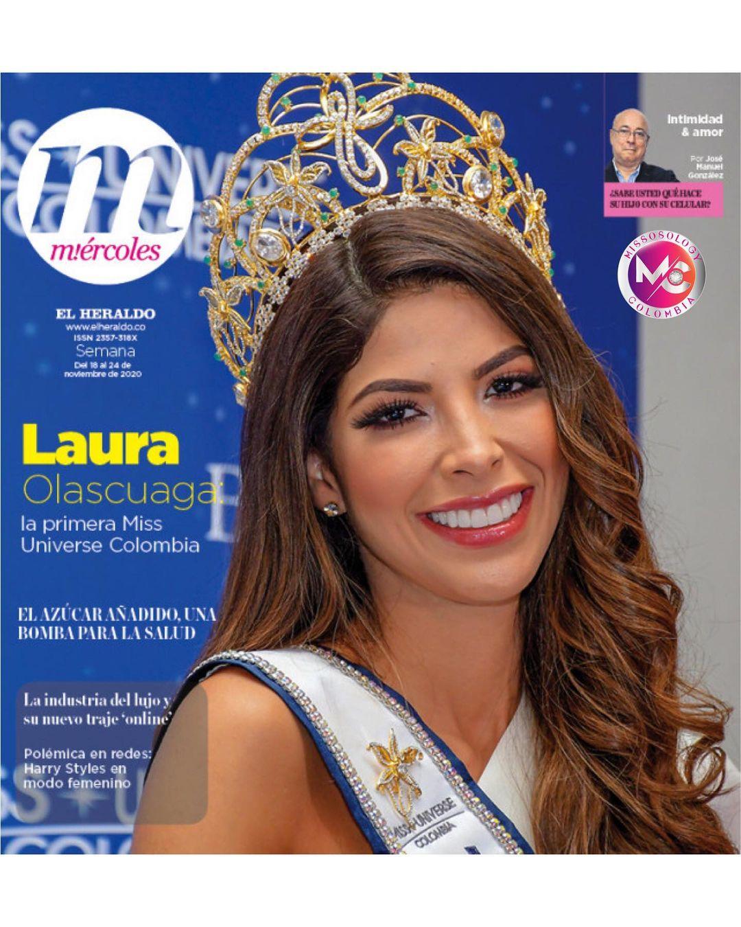 laura olascuaga, miss colombia universo 2020. - Página 5 Missos26