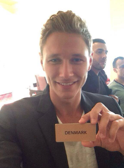 nicklas pedersen, mr world 2014  Mister10