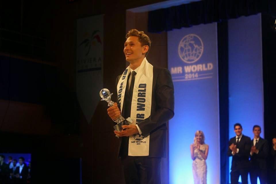 nicklas pedersen, mr world 2014  Mrworl11