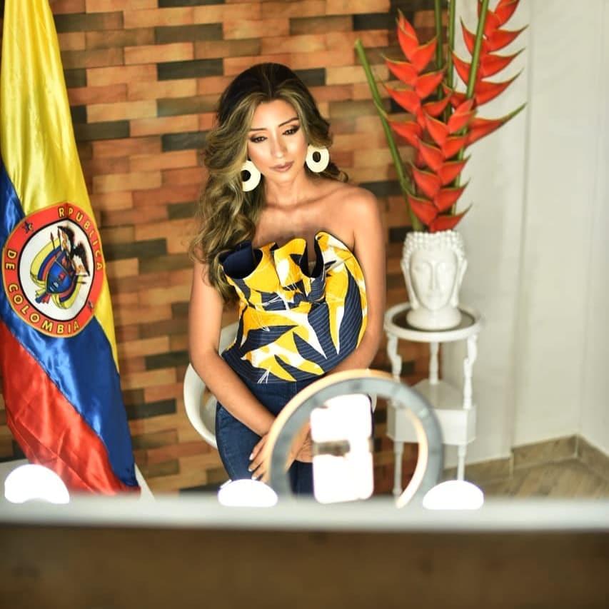 natalia romero, miss earth colombia 2020. - Página 2 Natyro21