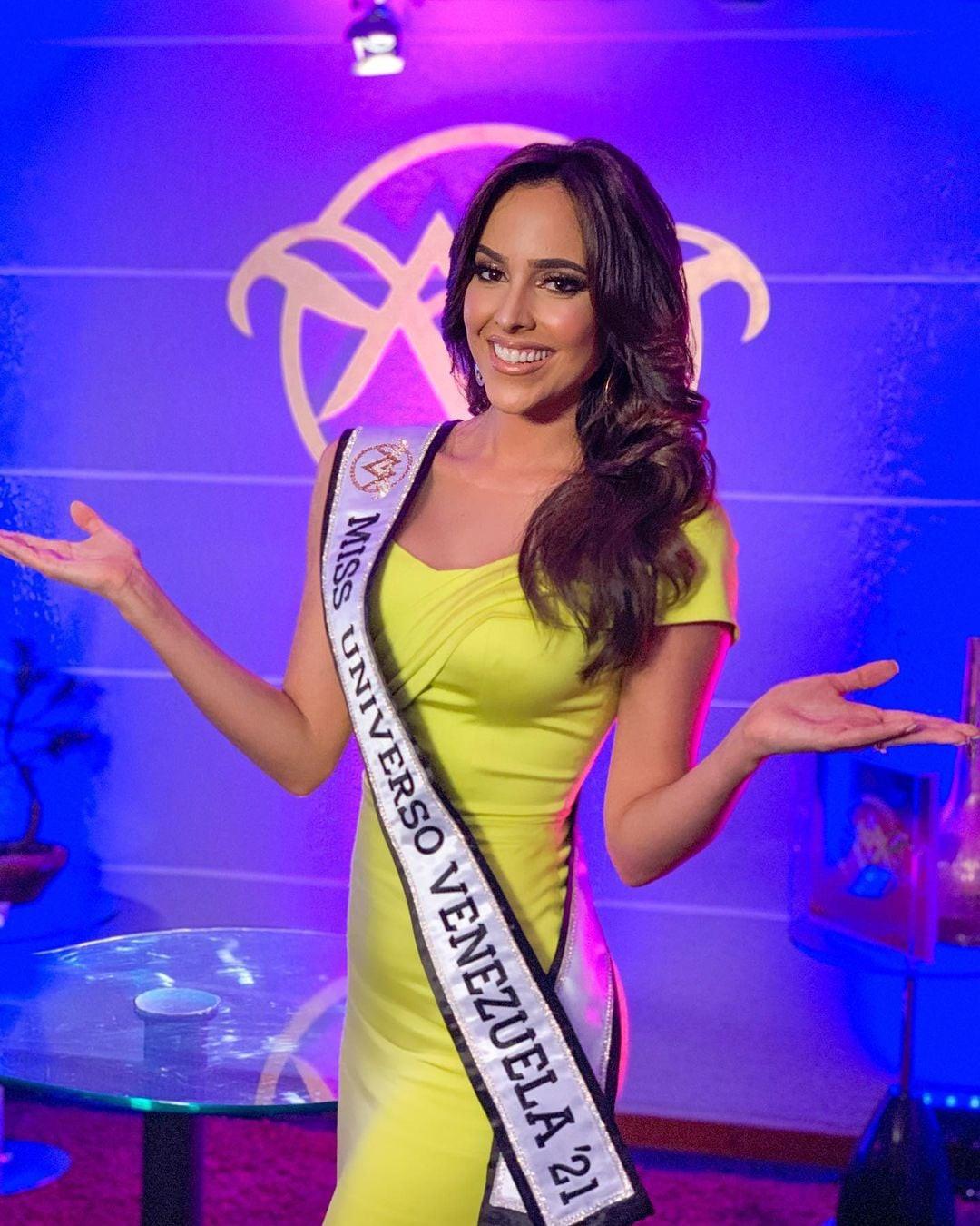 luiseth materan, miss universe venezuela 2021. Oozckb10
