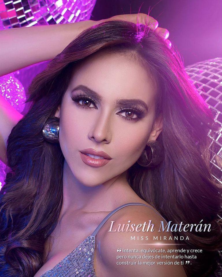 luiseth materan, miss universe venezuela 2021. Oozv5l10