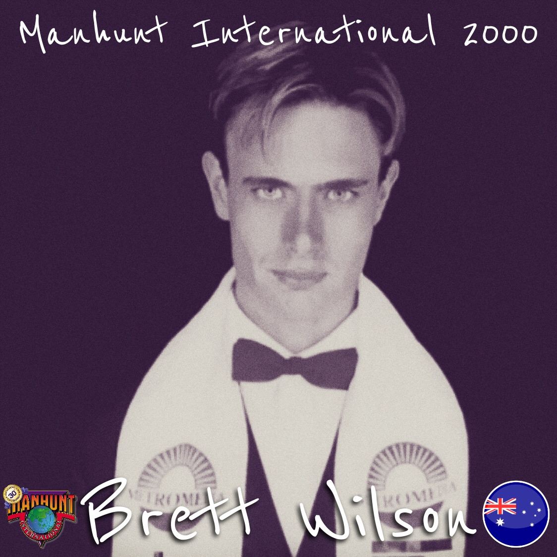 brett wilson, manhunt international 2000. Qg1mcl10