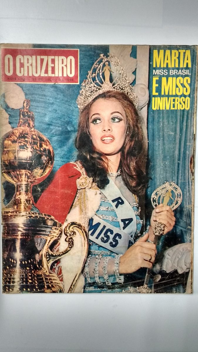 martha vasconcelos, miss universe 1968. - Página 3 Revist11