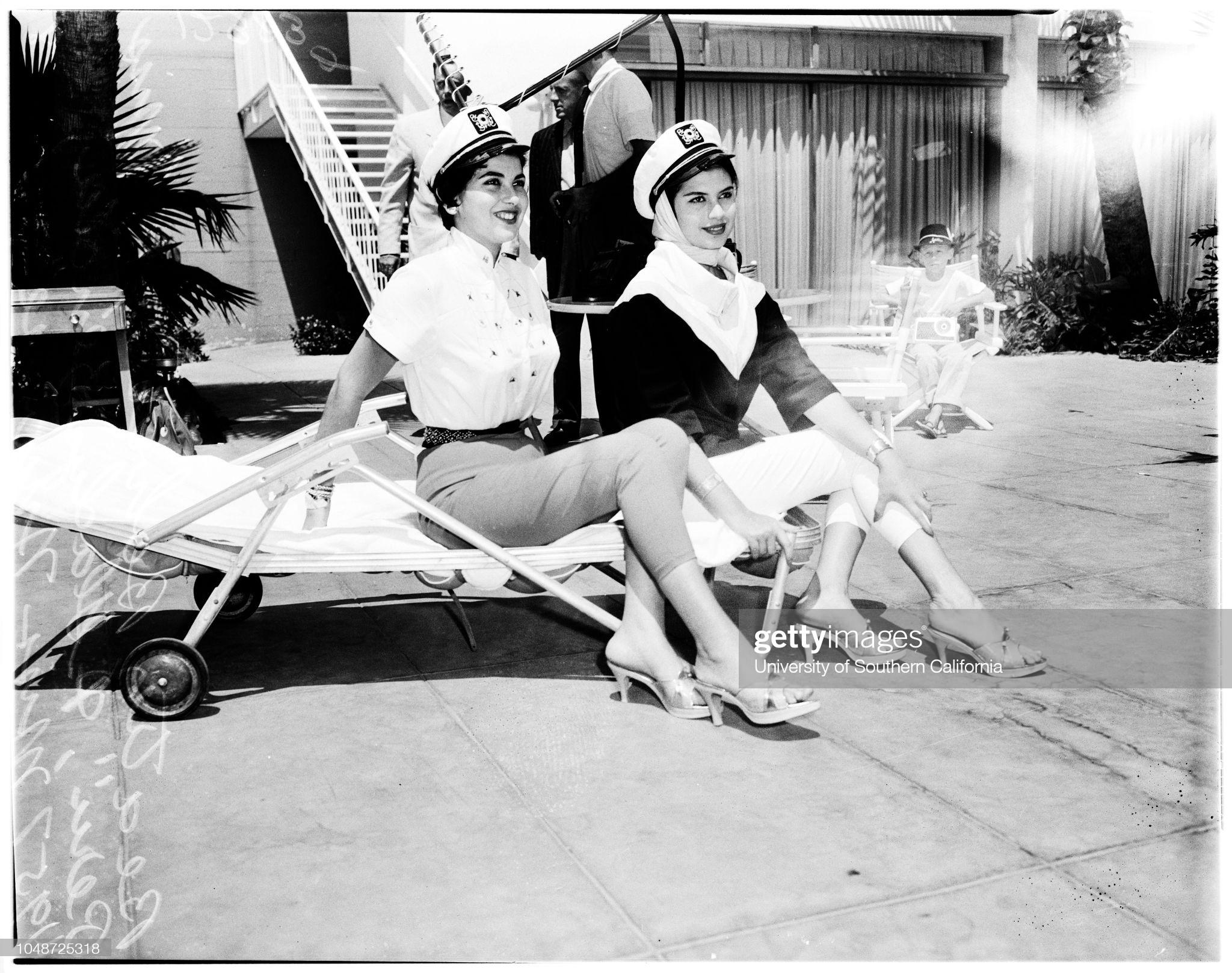 gladys zender, miss universe 1957. primera latina a vencer este concurso. - Página 4 Rvujog10