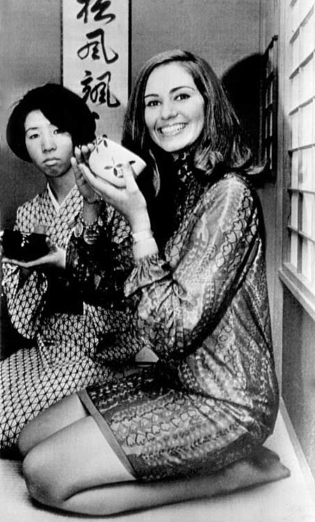 sylvia hitchcock, miss universe 1967. † Sylvia10