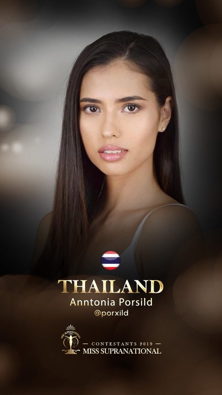 anntonia porsild, miss supranational 2019. Thaila12