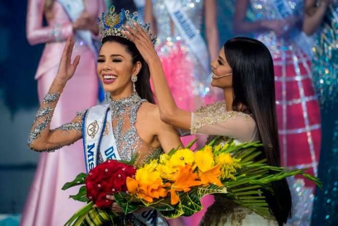 thalia olvino, top 20 de miss universe 2019. Thalia10