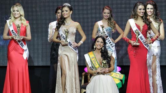 vitoria strada, top 2 no miss brasil mundo 2014. Top20110