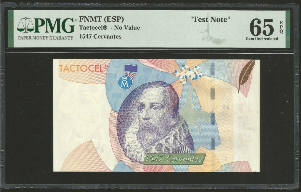 "Test Note ""TACTOCEL"" FNMyT (Cervantes) Tes_fn11"