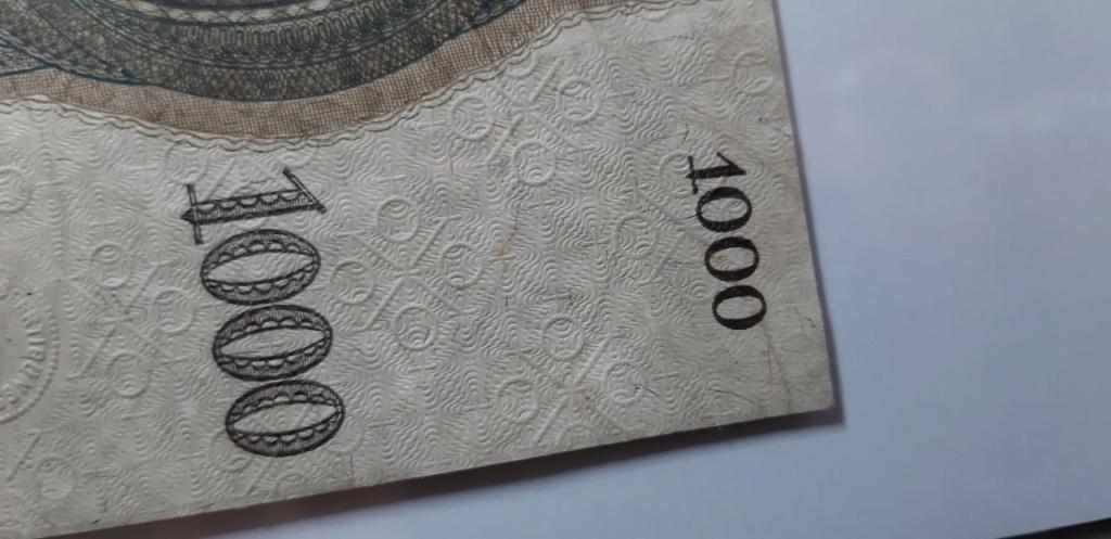 ¿Es útil la luz ultravioleta para poder detectar sobreimpresiones modernas/fraudulentas en billetes?  Thumbn17
