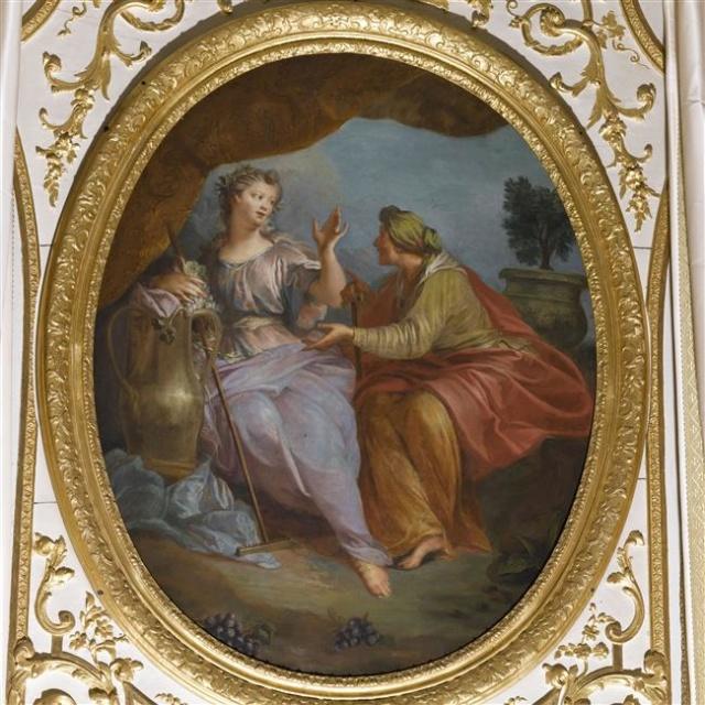 Pomone, nymphe des jardins à Versailles 09-57010