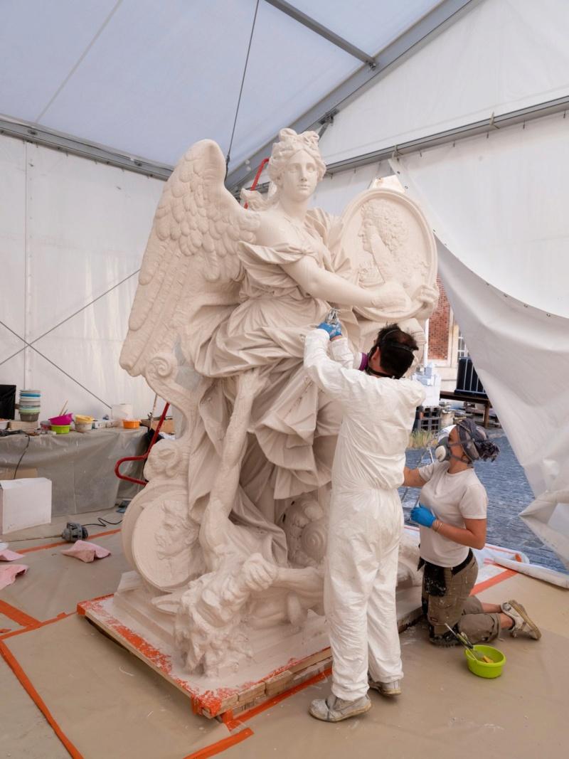 Visite à l'atelier de restauration des sculptures du C2RMF - Page 2 10330610