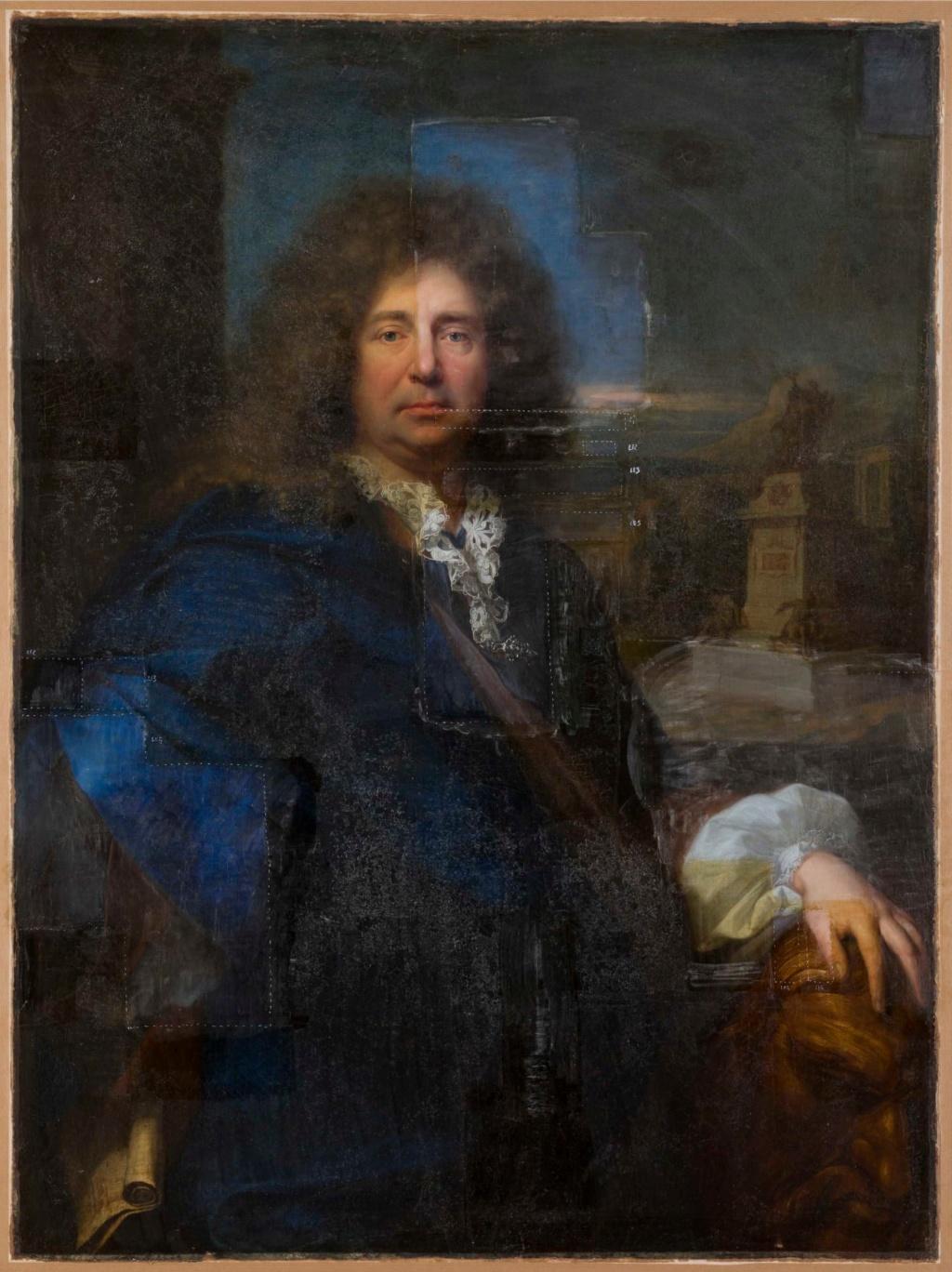 c2rmf à Versailles : Restauration des peintures 10431910