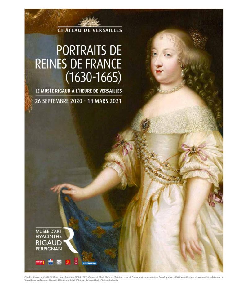 Portraits de Reines, expo au musée Rigaud de Perpignan. 11709410