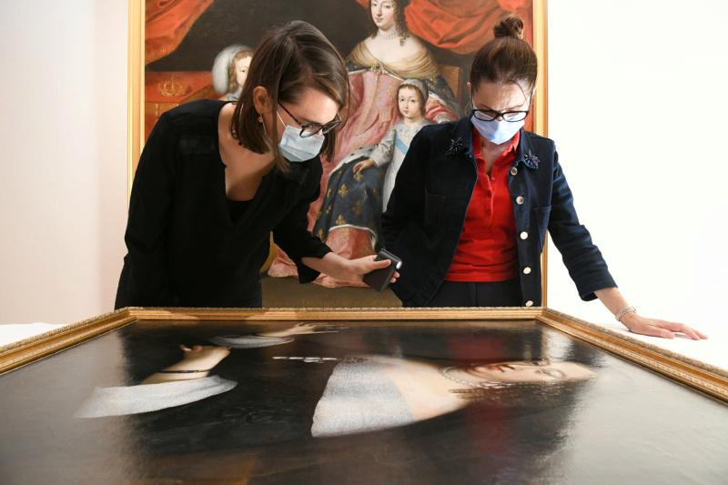 Portraits de Reines, expo au musée Rigaud de Perpignan. 12004010