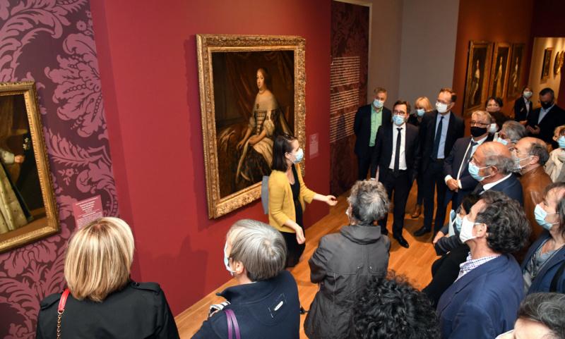 Portraits de Reines, expo au musée Rigaud de Perpignan. 12024610