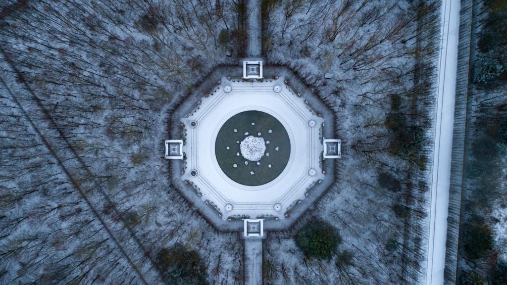 Photos de Versailles vu du ciel.  13943910