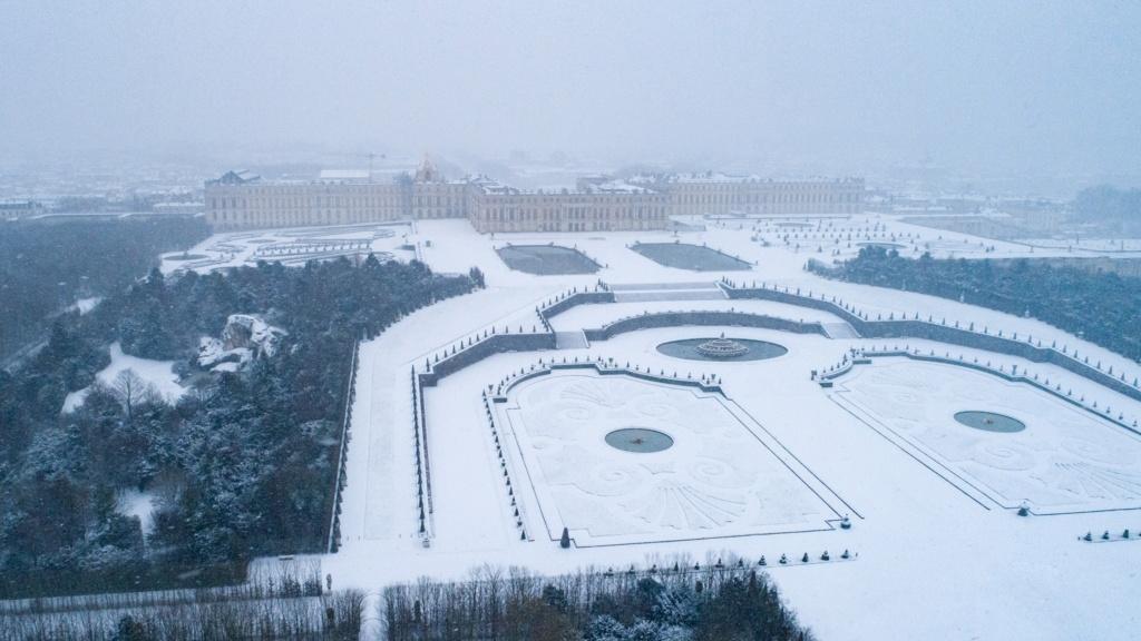 Photos de Versailles vu du ciel.  13950910