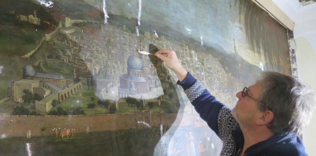 Le marquis de Nointel à Jérusalem par Arnould de Vuez ? 14205110