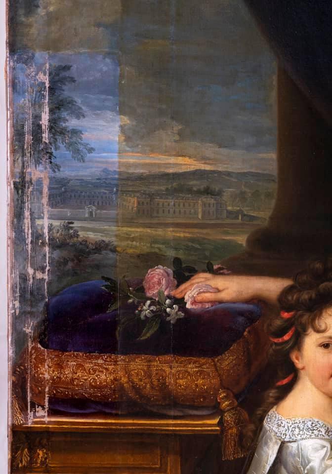 c2rmf à Versailles : Restauration des peintures 14341410