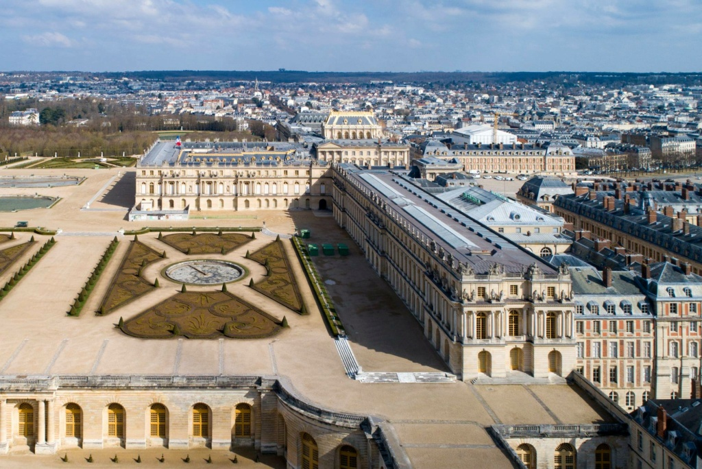 Photos de Versailles vu du ciel.  16555510