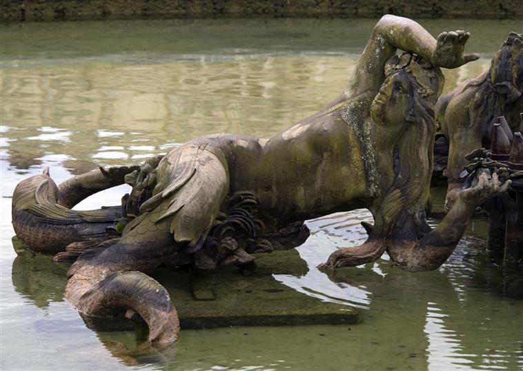 La sirène à Versailles, monstre hybride et dangereux 17-54714