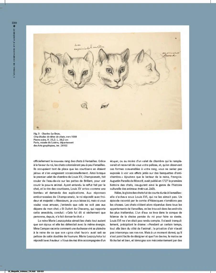 animaux - Exposition Les animaux du roi à Versailles 3-c42b10