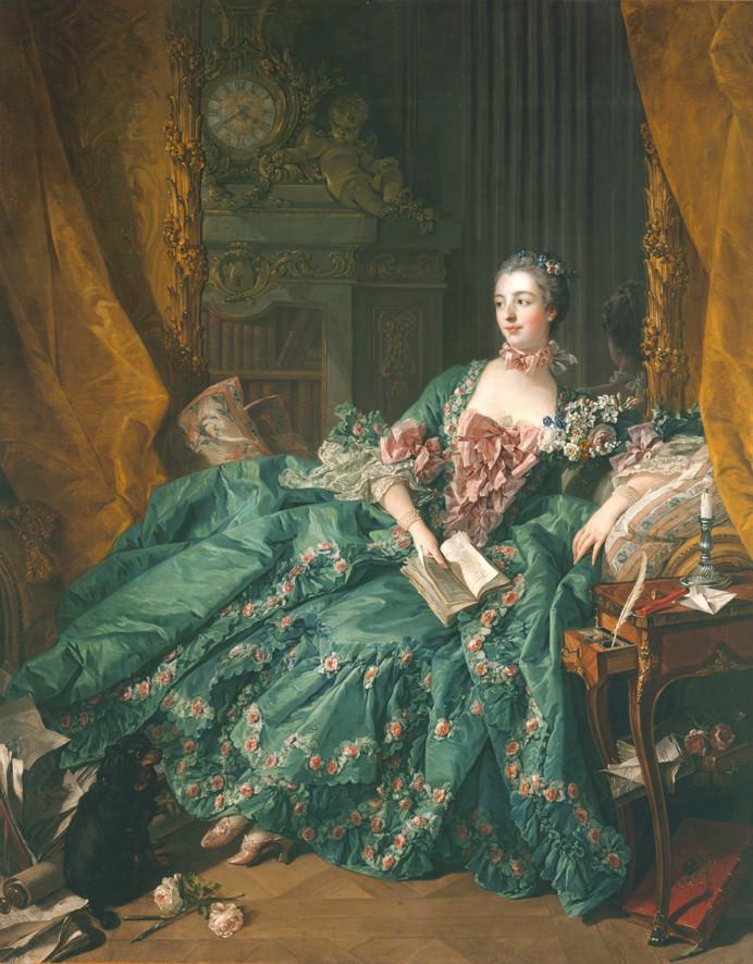 "Waddesdon Manor ""Madame de Pompadour in the frame"" 345-1410"