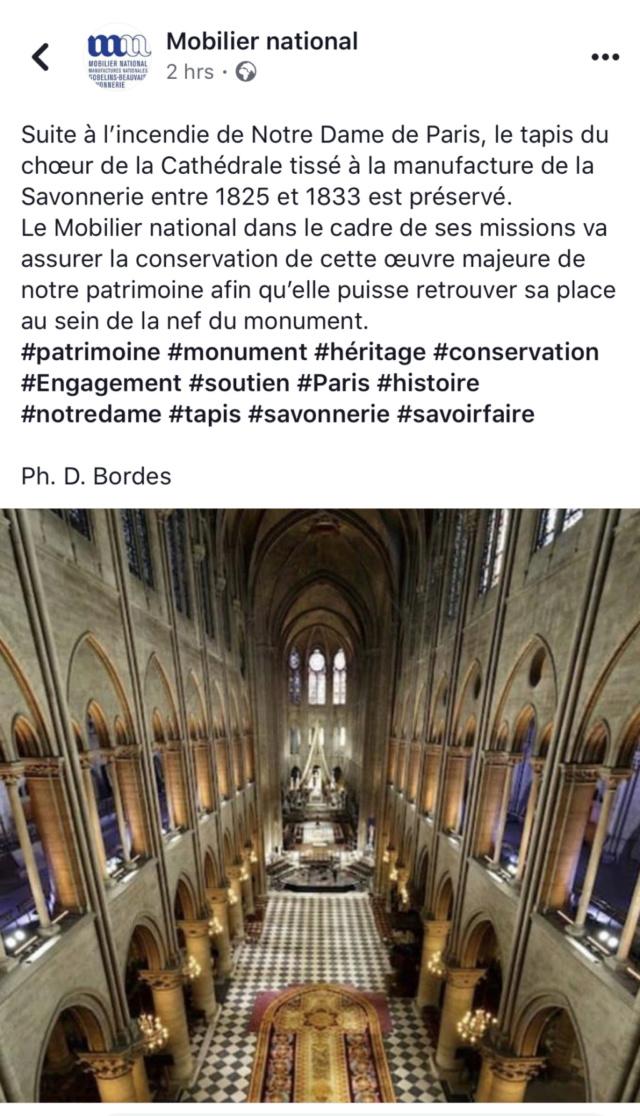 Notre-Dame de Paris. Exposition « Tapis du choeur » 5e692c10