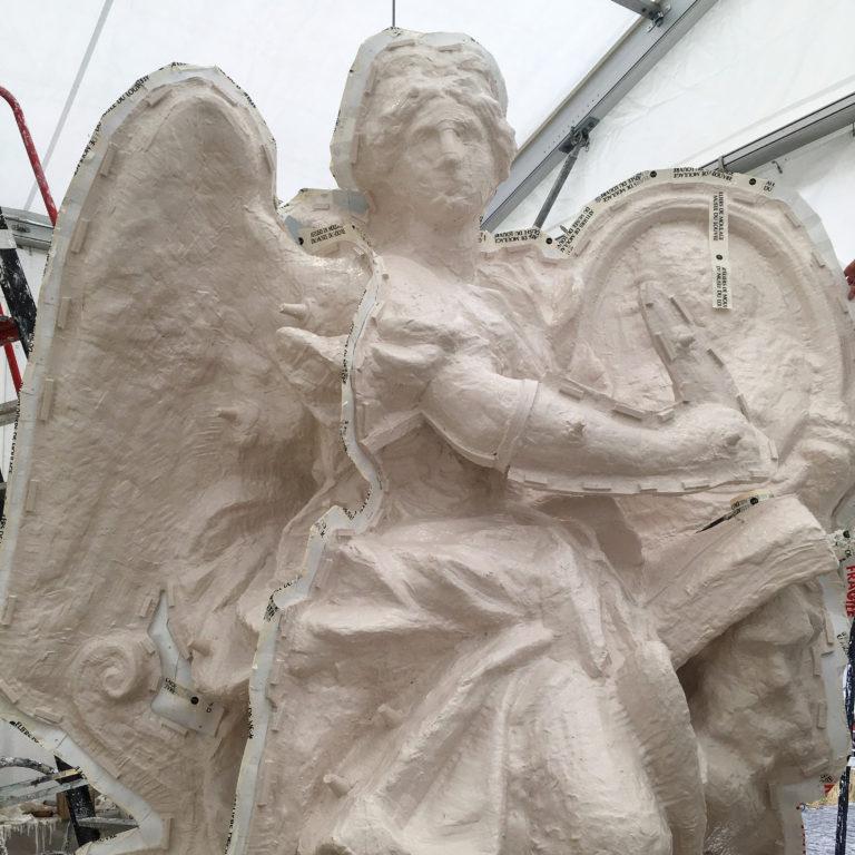 Visite à l'atelier de restauration des sculptures du C2RMF - Page 2 80557f12