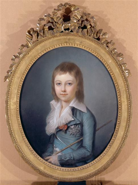 Vizille : Exposition Heurs et malheurs de Louis XVII 96-02110