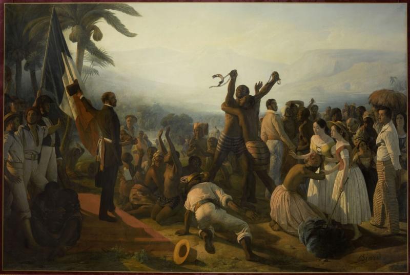 Exposition au musée d'Orsay : Le modèle noir  Abolit10