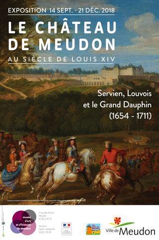 Exposition : Le château de Meudon, au siècle de Louis XIV Affich10