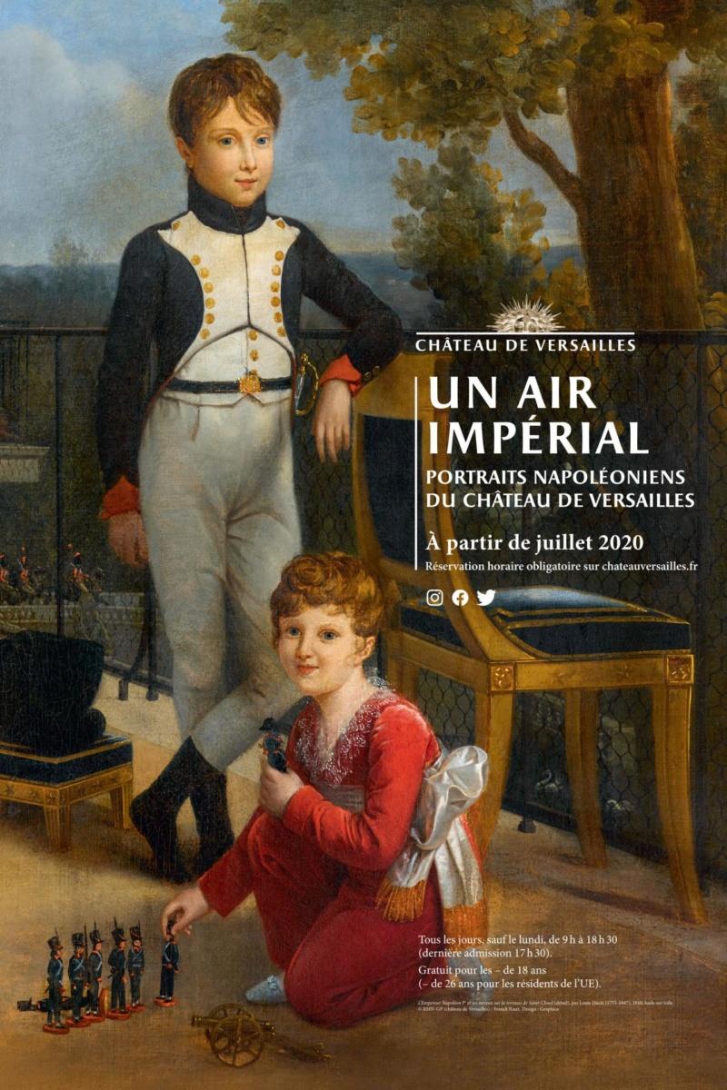 """impérial - Exposition """"Un air Impérial"""". Appartement Maintenon. 2020 Affich13"""