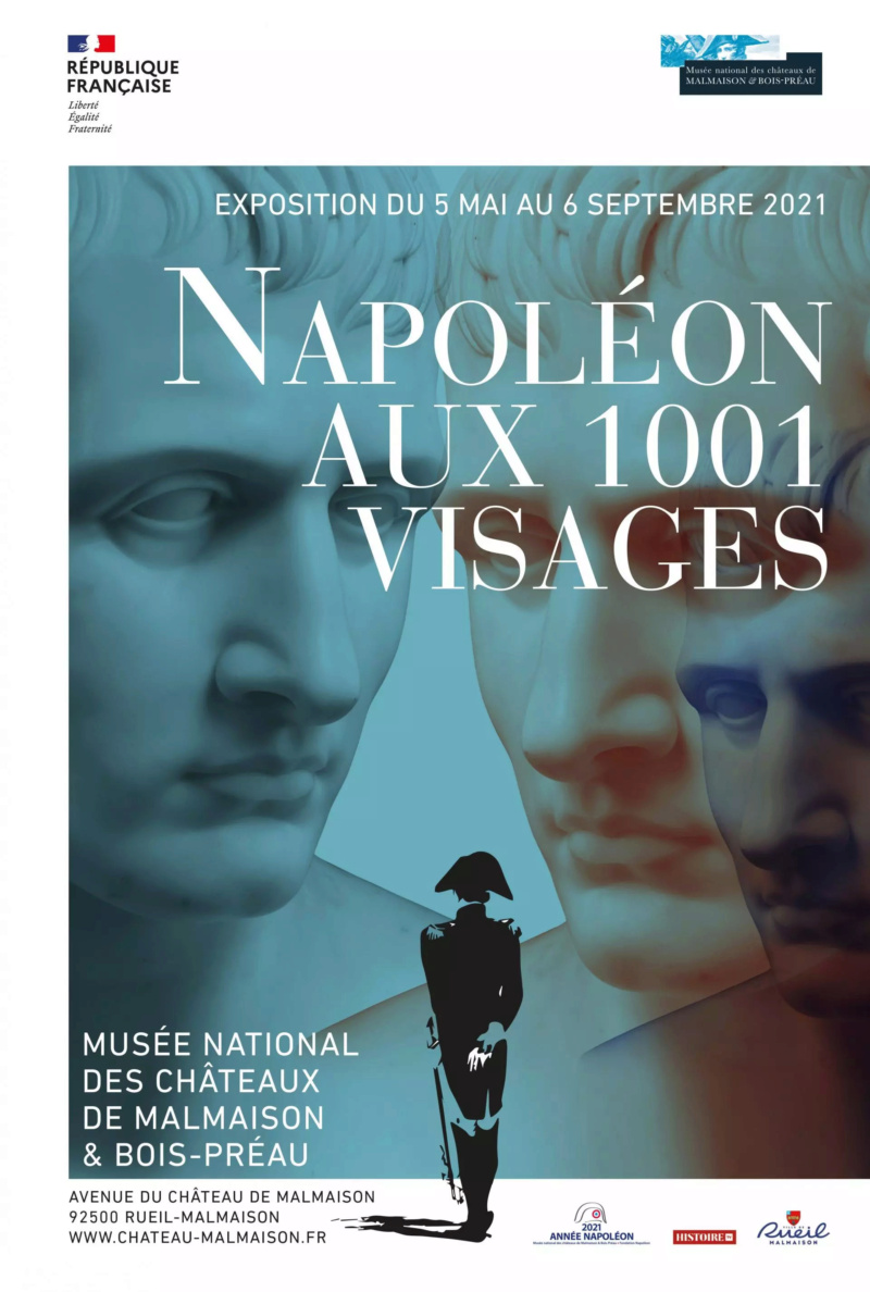 """Malmaison : Exposition """"Napoléon aux 1001 visages""""  Affich17"""