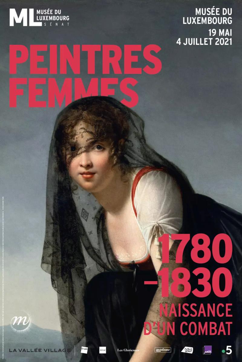 """Musée du Luxembourg Exposition """"Peintres femmes, 1780-1830"""" Affich19"""