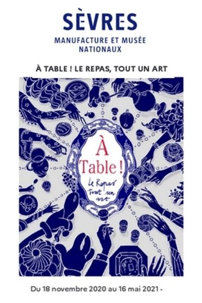 Sèvres : Exposition À table ! Le repas, tout un art Agen3010