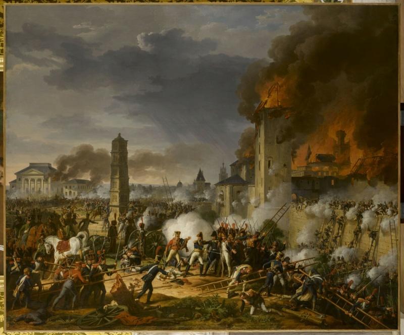 Exposition Napoléon à la Grande Halle de La Villette - Page 2 Attaqu10