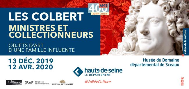 """Sceaux Exposition """"Les Colbert ministres et collectionneurs"""" Bandea10"""