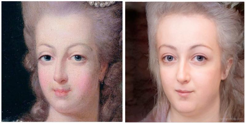 Marie Antoinette vivante ! Image photoréaliste Captu411