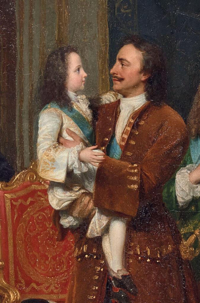 Un Tsar en France, Pierre le Grand et la cour de Louis XV Centre10