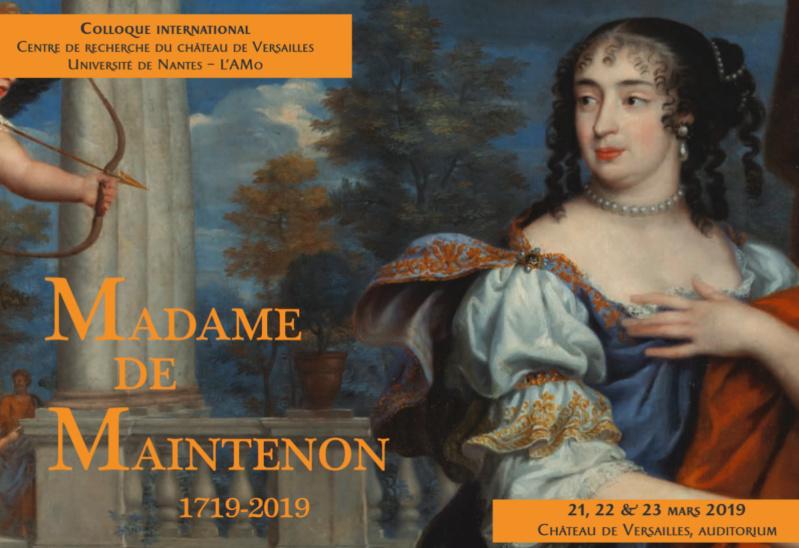 Château de Versailles : Colloque Madame de Maintenon  Colloq10