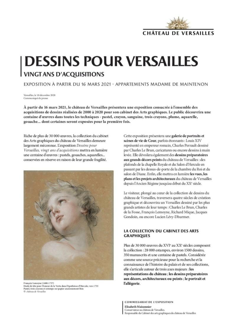 Expo. Dessins pour Versailles, Vingt ans d'acquisitions Commun10