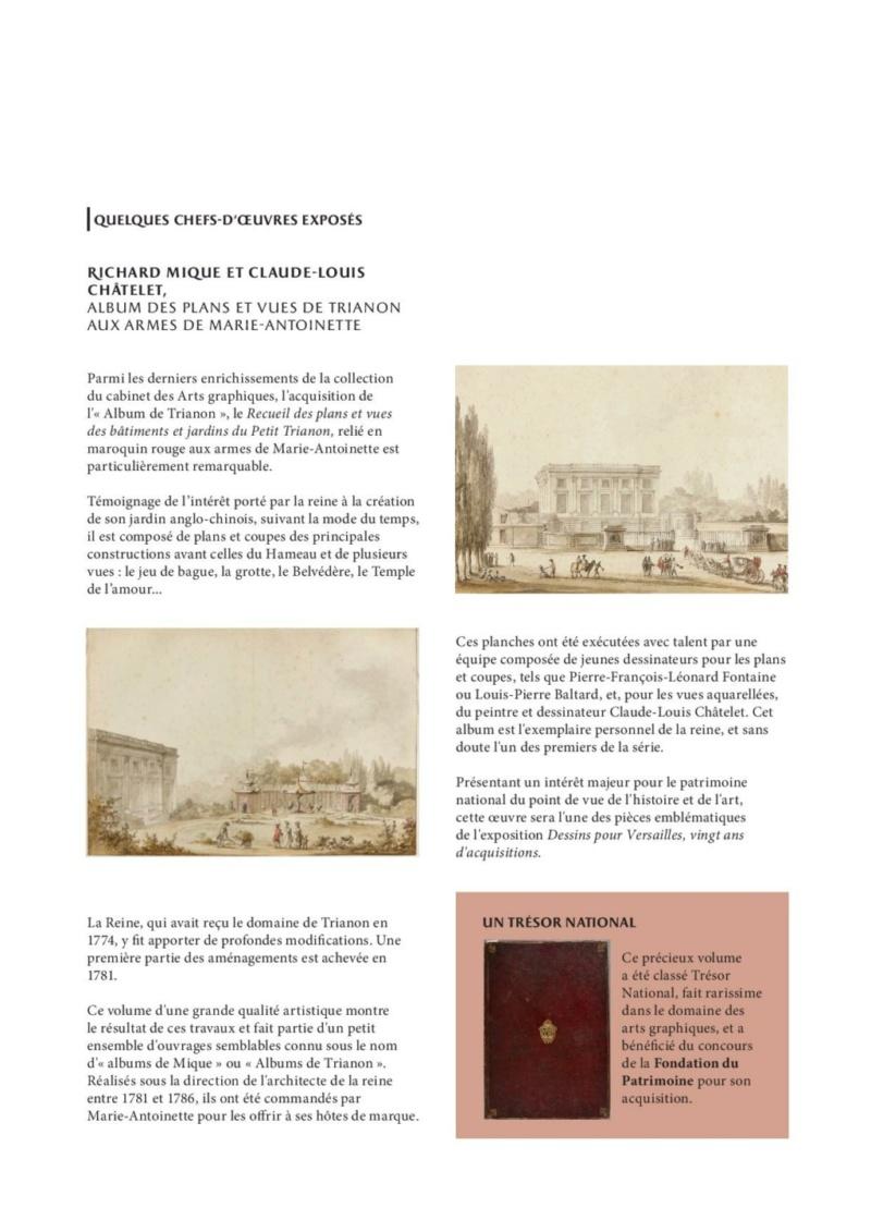 Expo. Dessins pour Versailles, Vingt ans d'acquisitions Commun11